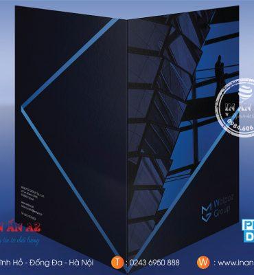 Mẫu kẹp file ấn tượng được thiết kế và in tại In ấn AZ