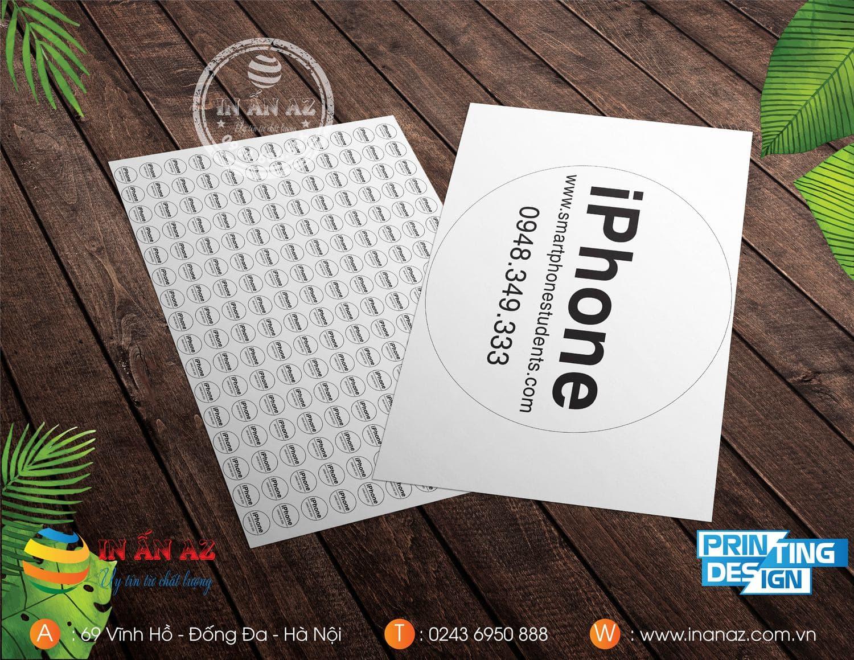Mẫu tem bảo hành của smartphonestudents.com