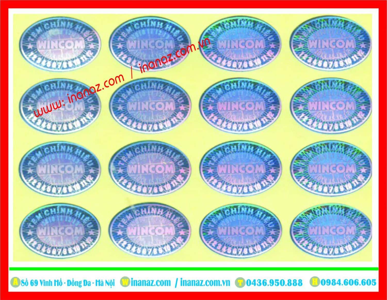 Mẫu tem 7 màu được thiết kế và in tại In ấn AZ