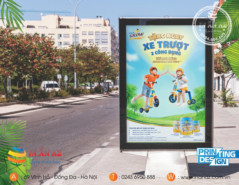 Dịch vụ in poster tại In ấn AZ