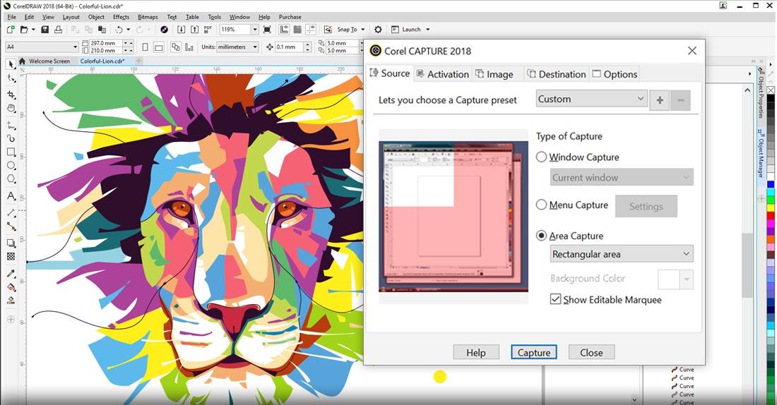 Phần mềm thiết kế Corel draw