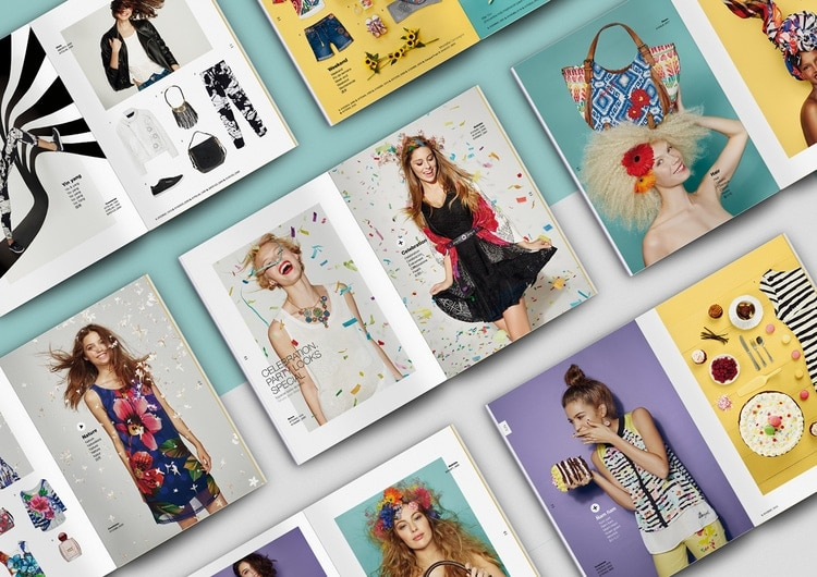 Catalogue của Desigual