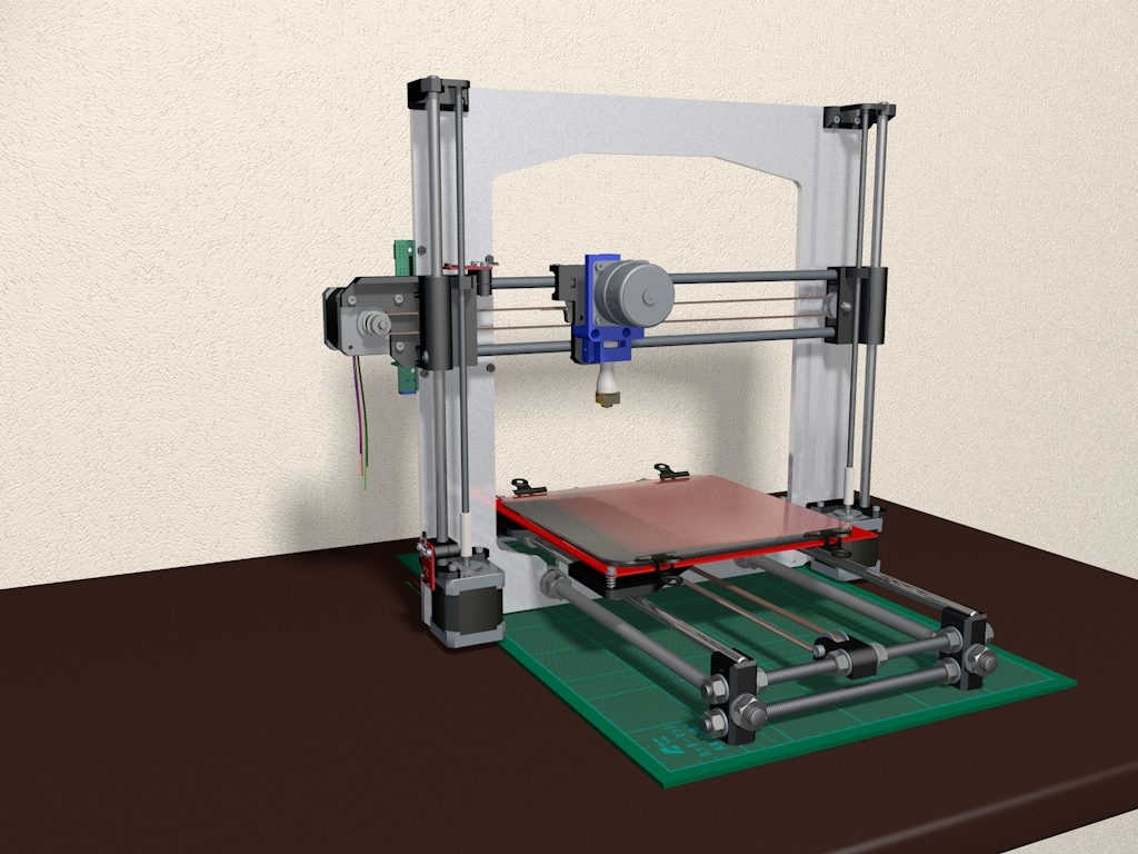 Máy in 3D Reprap mini Prusa i3