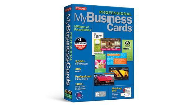 Phần mềm thiết kế card visit MyProf Professional