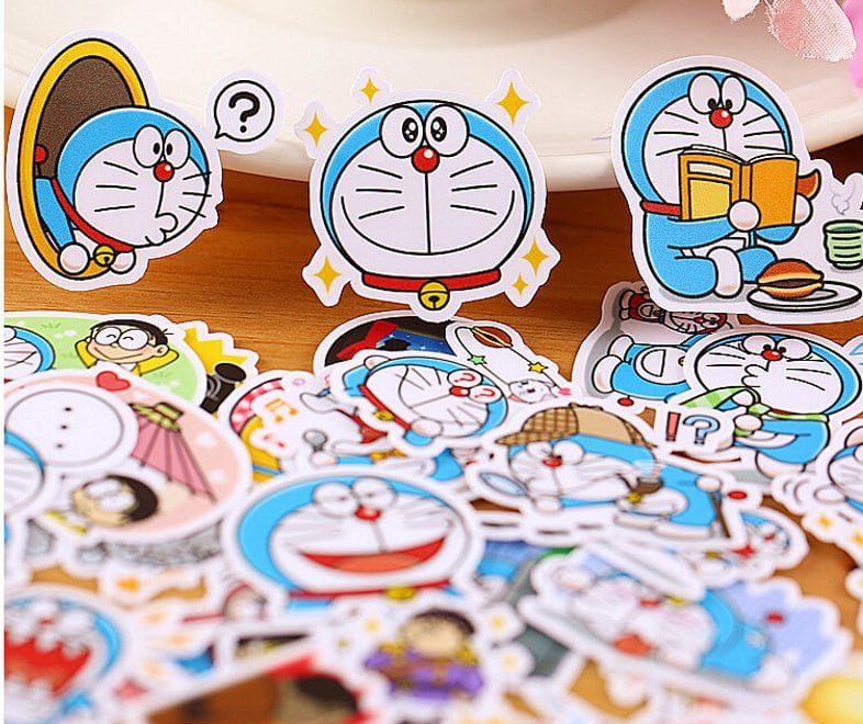 sticker doremon