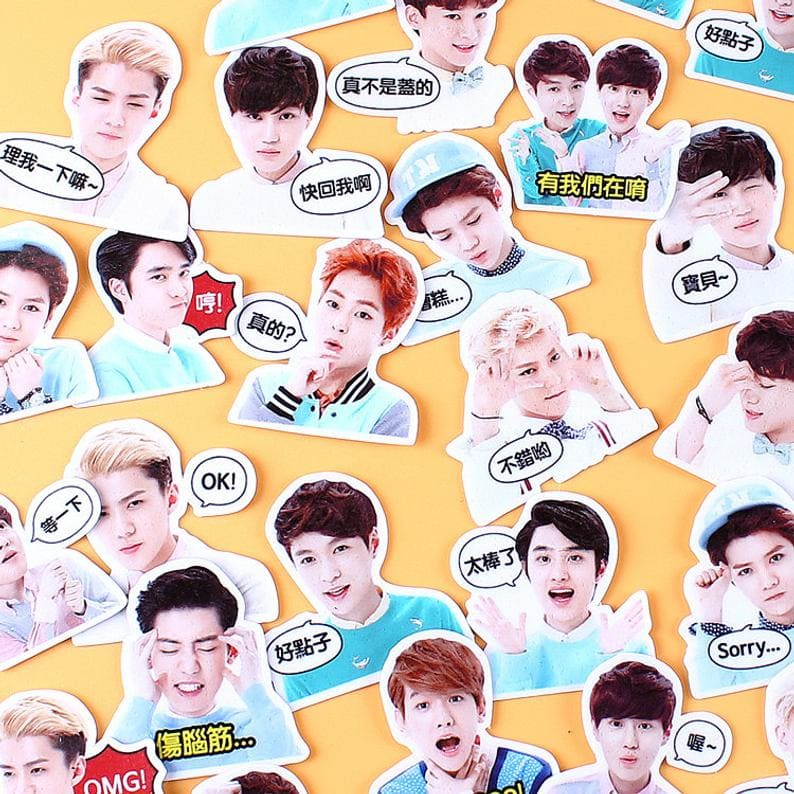 Sticker idol - EXO