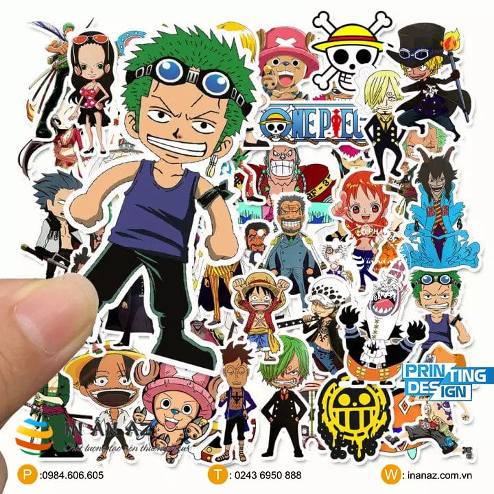 ảnh sticker one piece