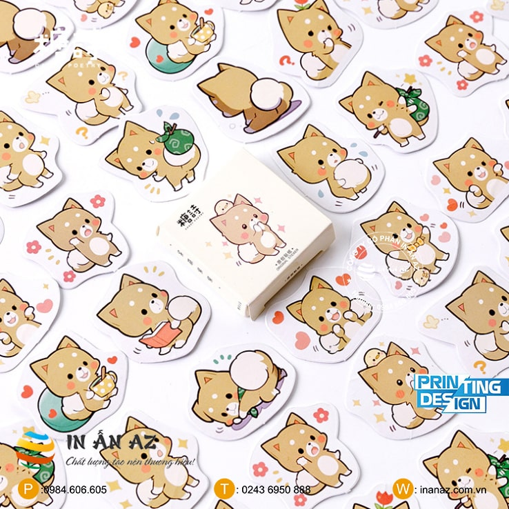 cute cat sticker đẹp