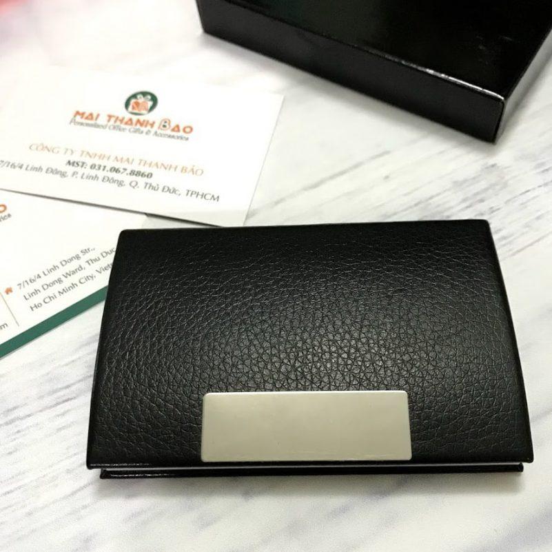 hộp da đựng name card