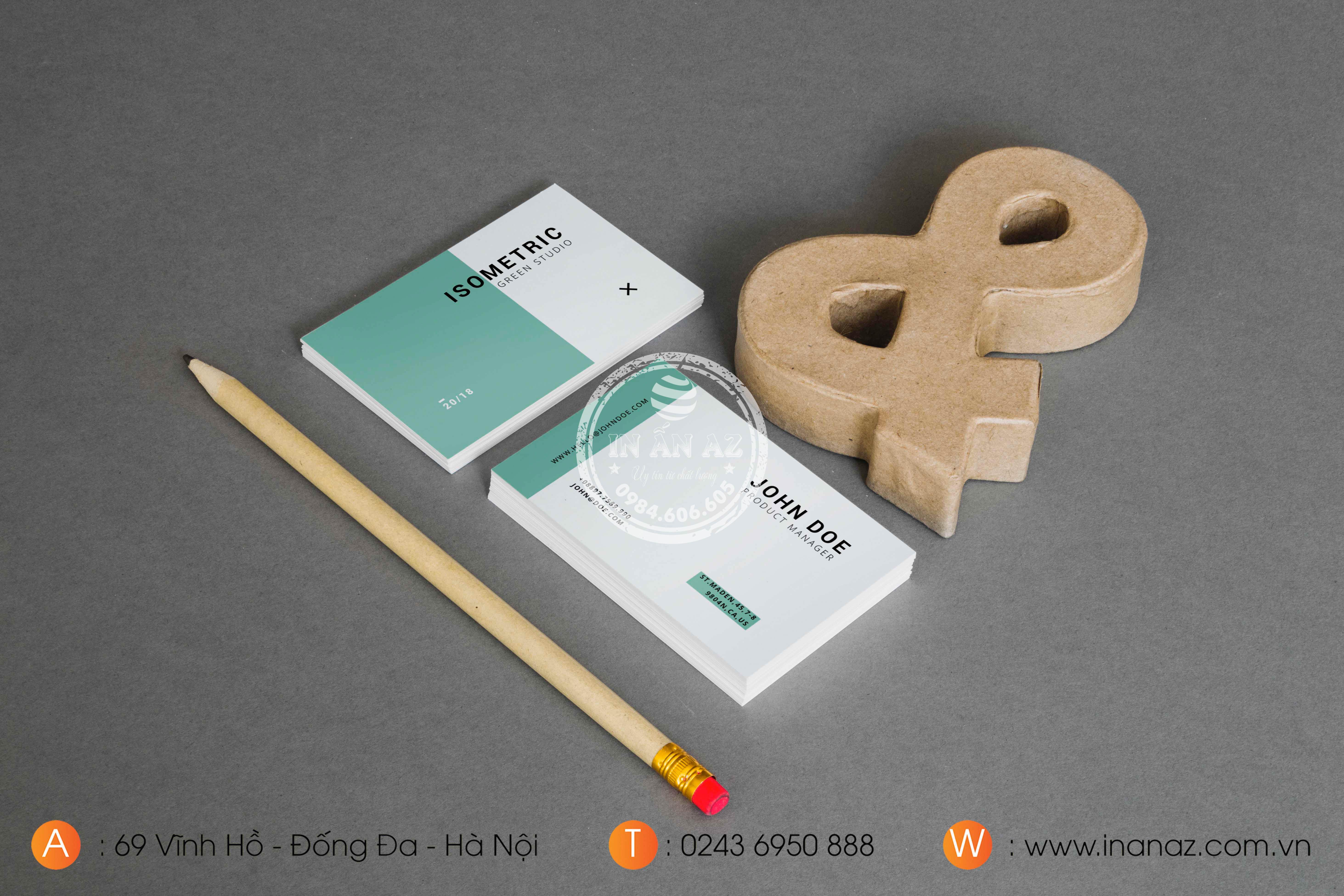mẫu card visit cho doanh nghiệp 5
