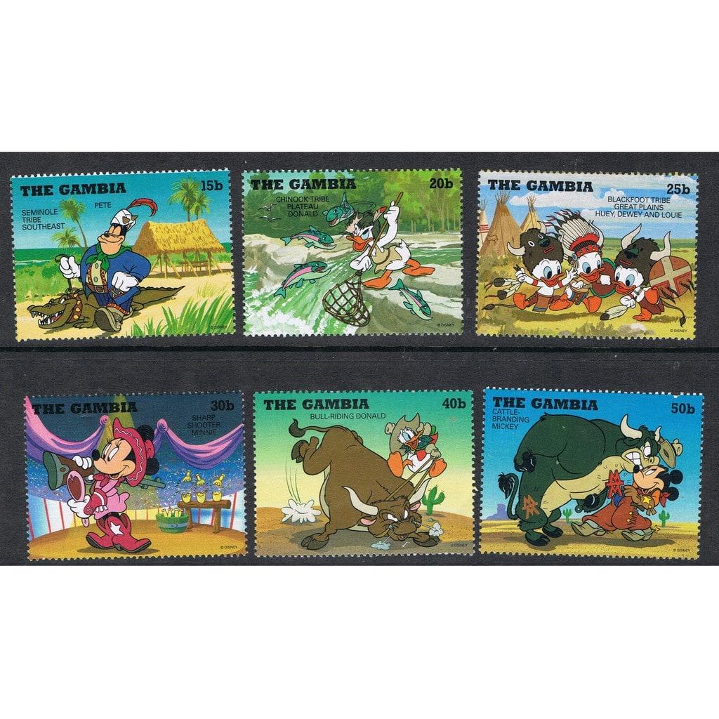Bộ sưu tập tem hoạt hình Disney