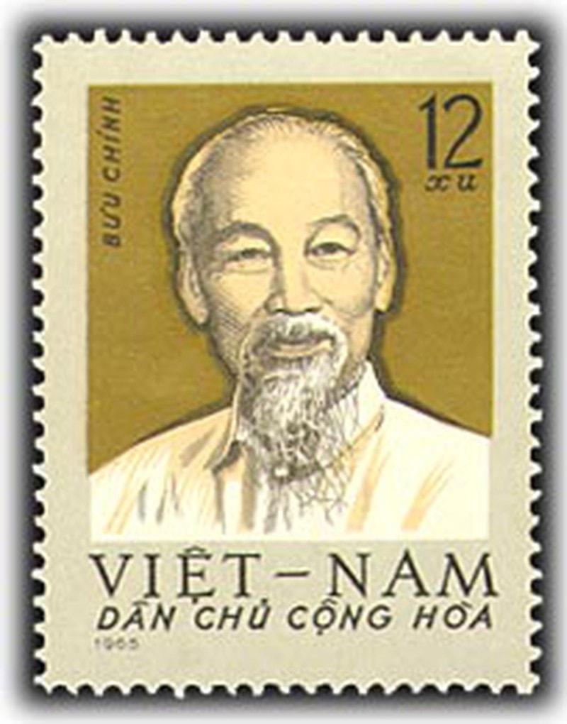 Tem chủ tịch Hồ Chí Minh