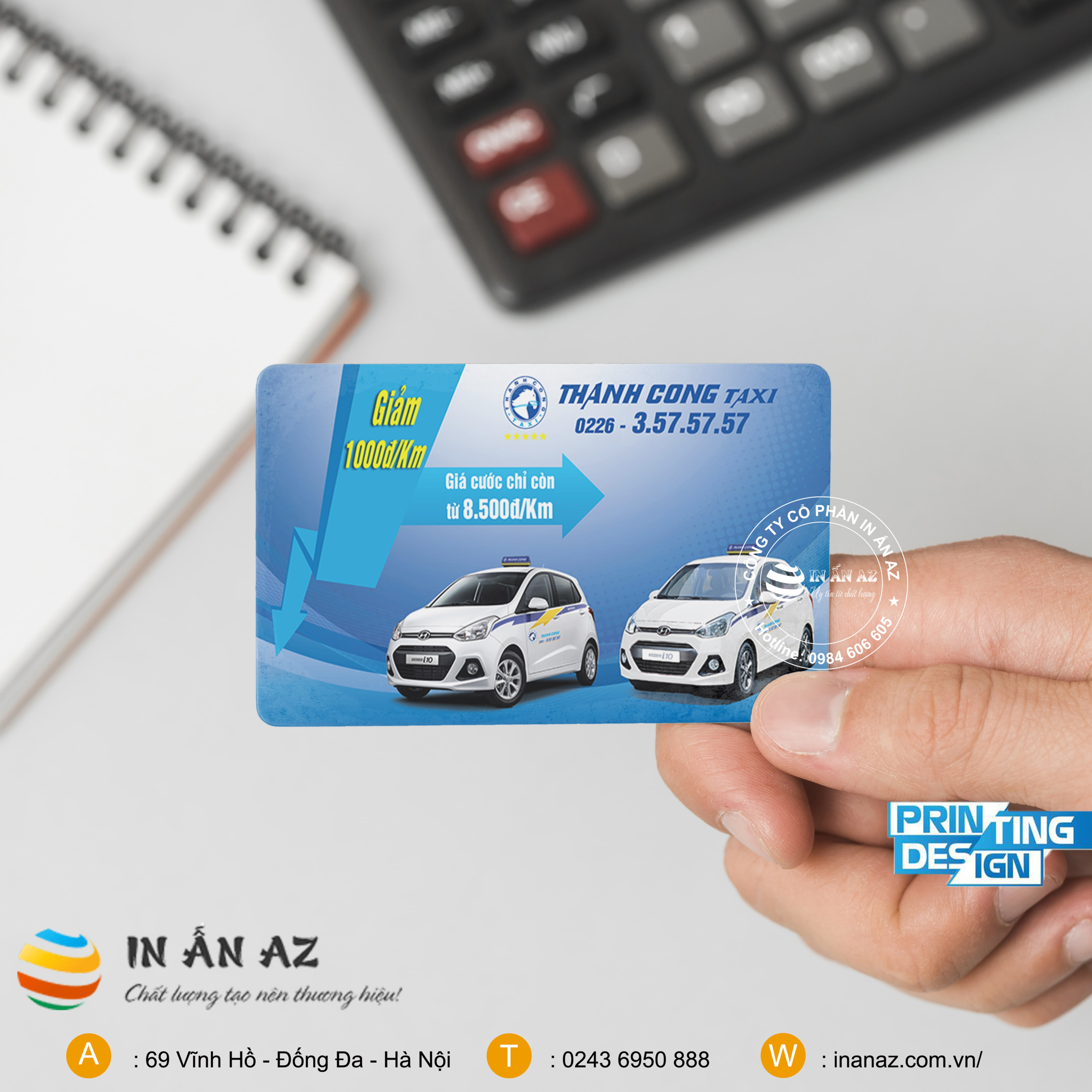 thông tin bạn cần biết về Card Visit Taxi