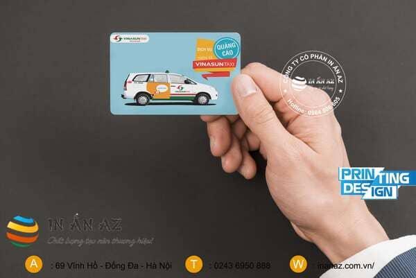 Mẫu card visit taxi đẹp 7