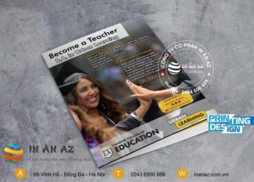 Mẫu tờ rơi quảng cáo du học
