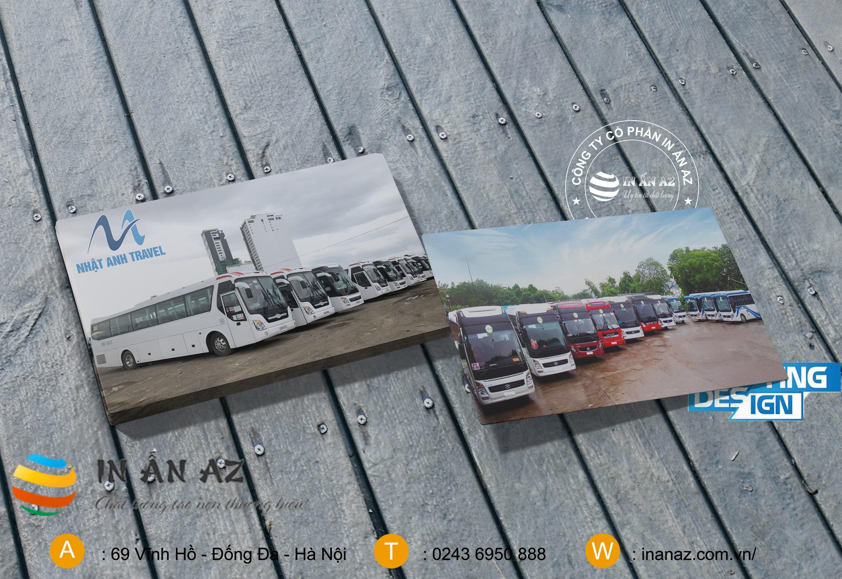 mẫu card visit cho thuê xe