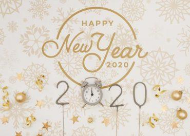 Các Mẫu Thiệp Chúc Mừng Năm Mới 2020 Sáng Tạo