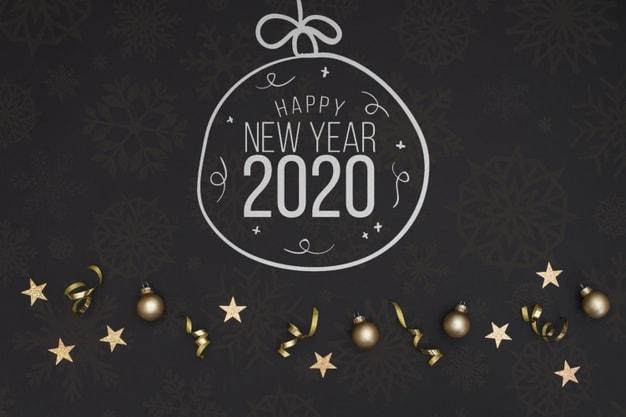 mau thiep chuc mung nam moi 2020 - 12