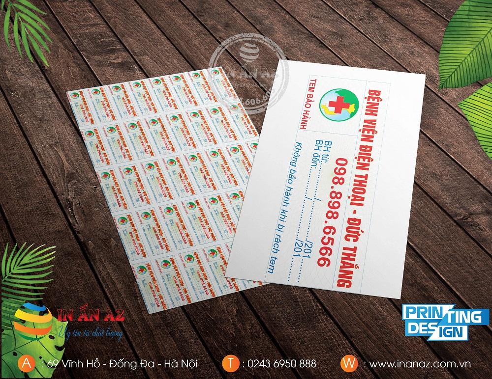 cách xem thông tin trên tem bảo hành