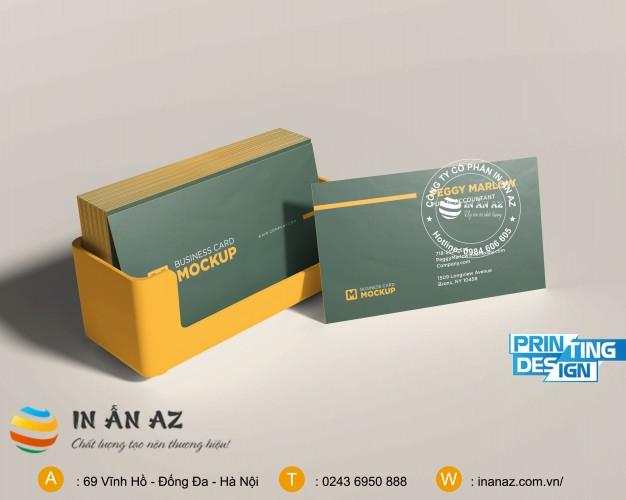 mẫu card visit hot 2020 cho doanh nhân