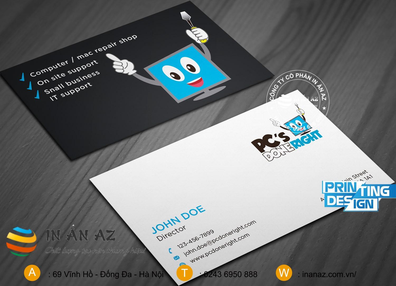 in card visit may tinh 4