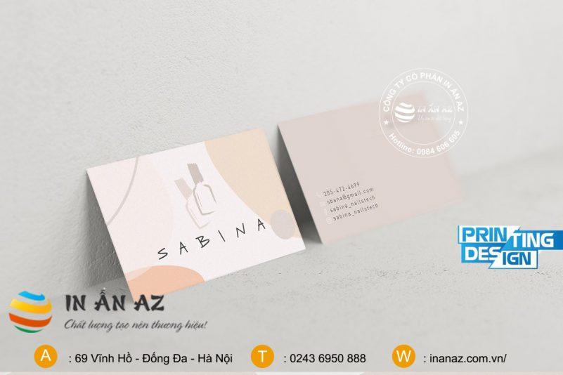 mẫu card visit cho doanh nghiệp 11