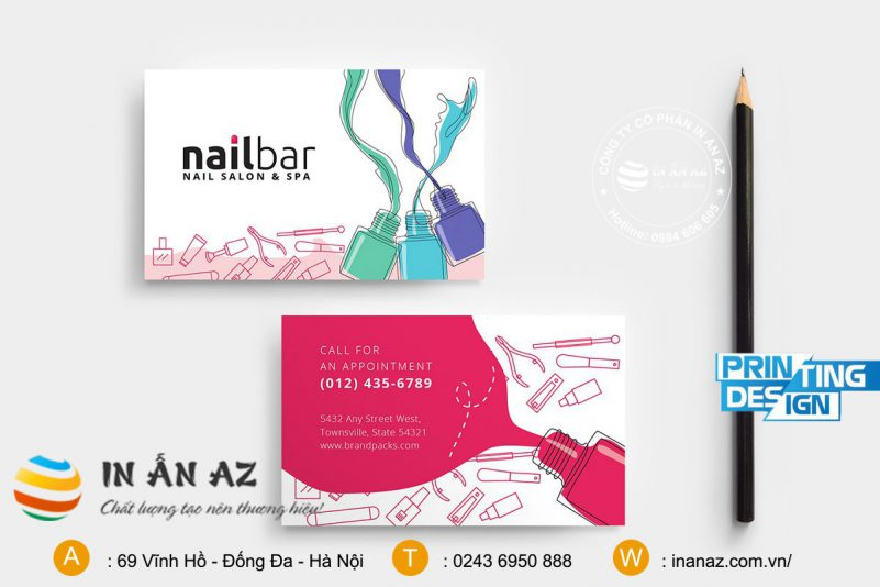 card visit nail dep 3