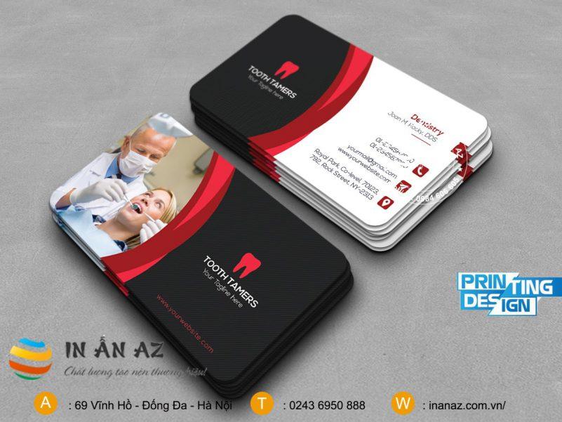 card visit nha khoa 8