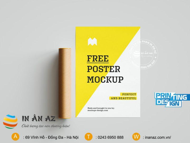 kích cỡ poster nhỏ nhất