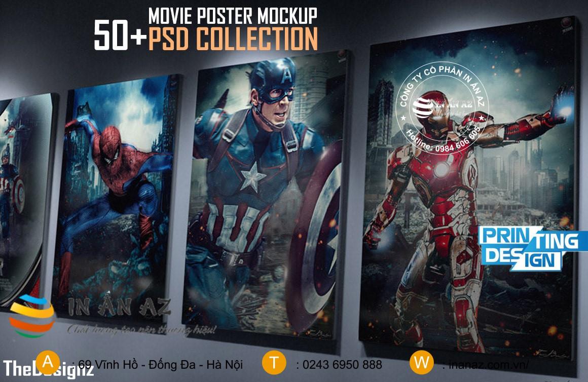 kích thước poster phim