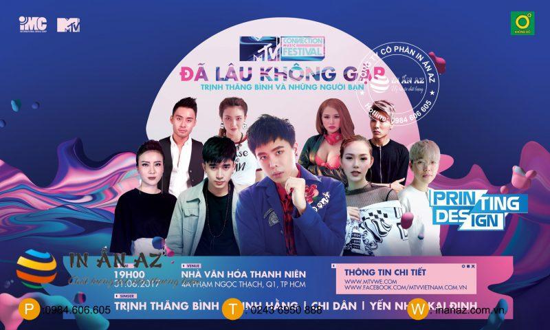 lễ hội âm nhạc poster