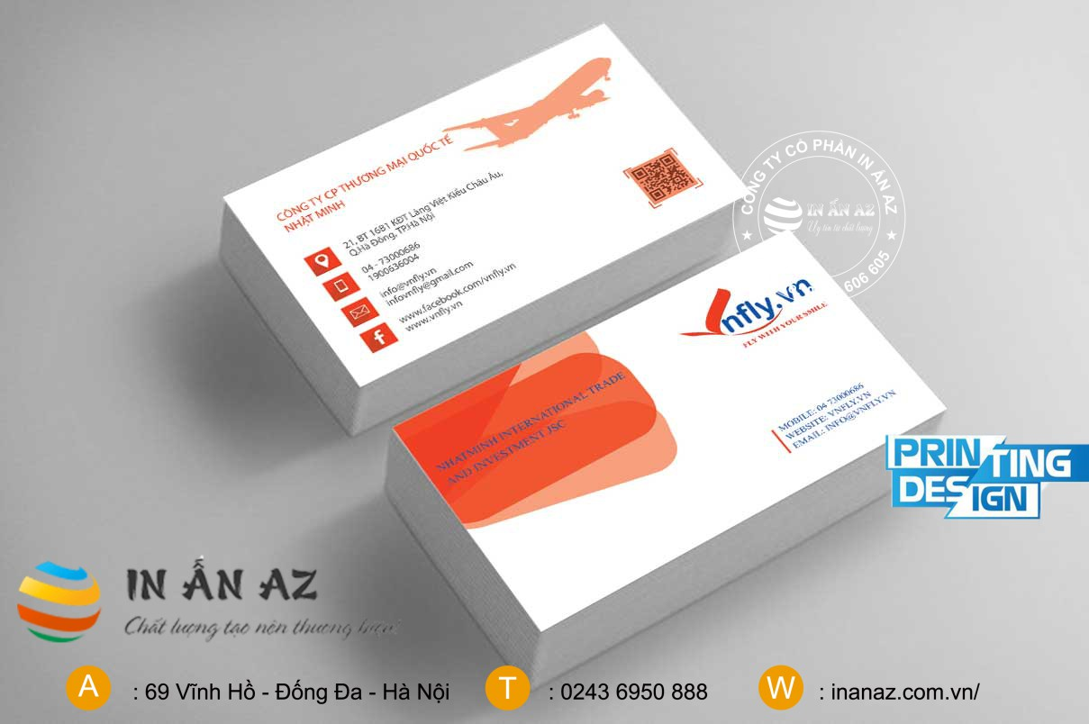 mau card visit ban ve may bay dep 2