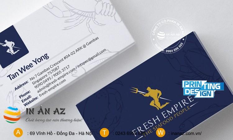 card visit giấy
