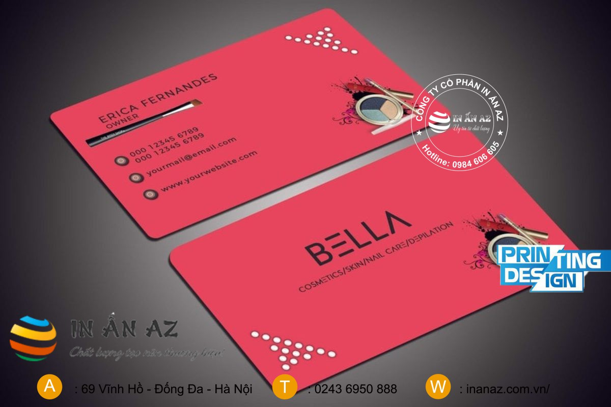 mau card visit my pham