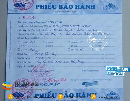 phieu bao hanh cong trinh dep 1