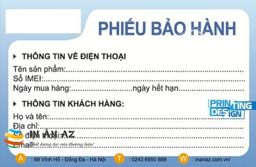 phieu bao hanh dien thoai 1