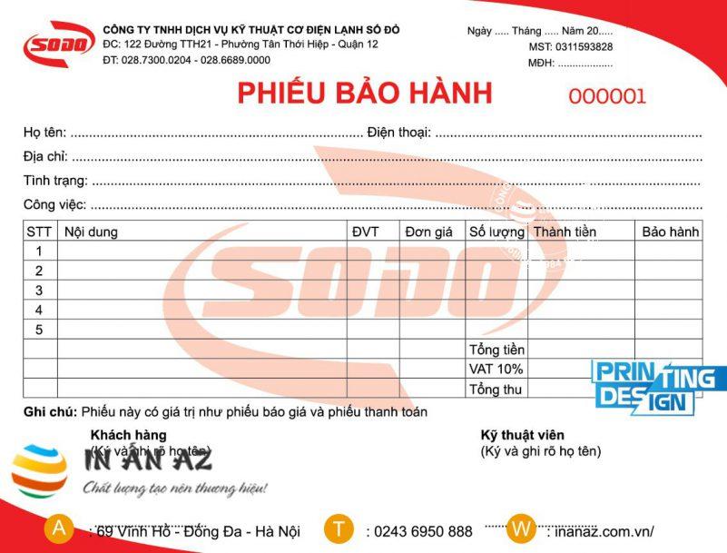 phieu bao hanh dien thoai 5