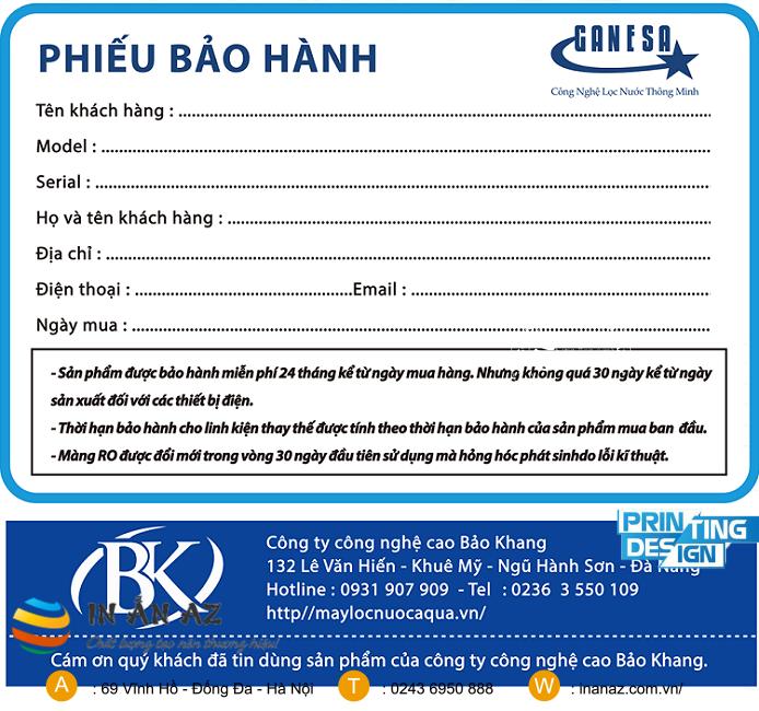 mau phieu bao hanh dong ho 9