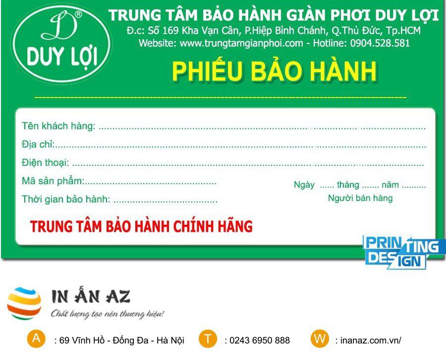 phieu bao hanh san pham 2