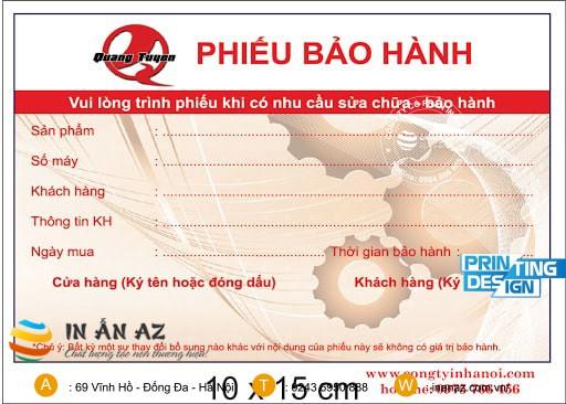 phieu bao hanh san pham dep 6