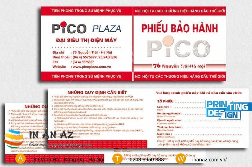 phieu bao hanh san pham