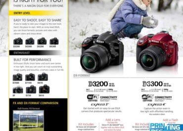 Mẫu tờ rơi quảng cáo camera in ấn AZ