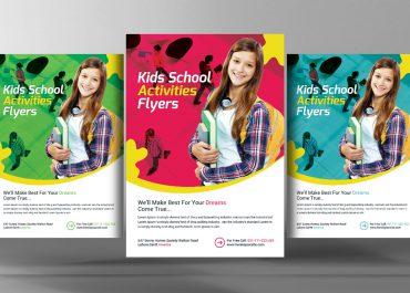 Mẫu tờ rơi quảng cáo khóa học tại in ấn AZ