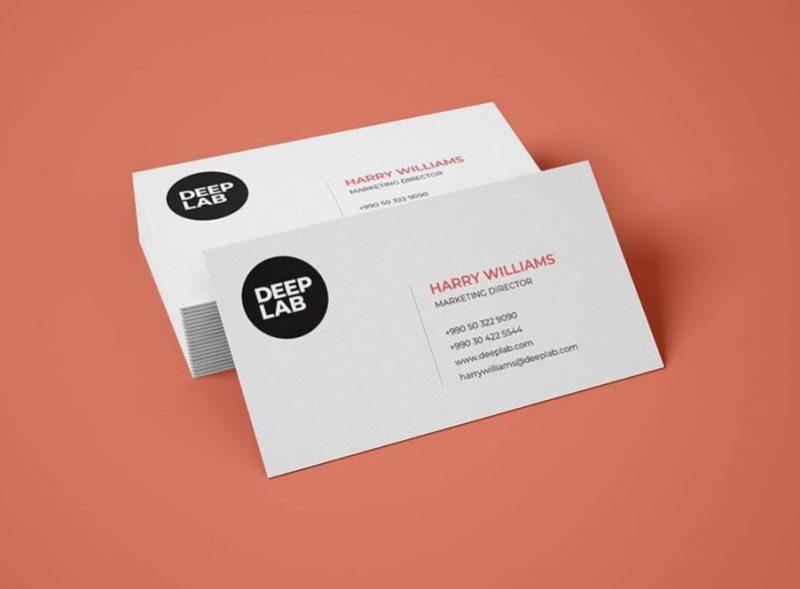 mẫu card visit hot 2020