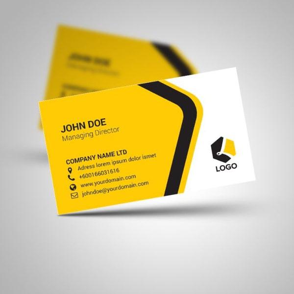 Name card template đơn giản, chuyên nghiệp